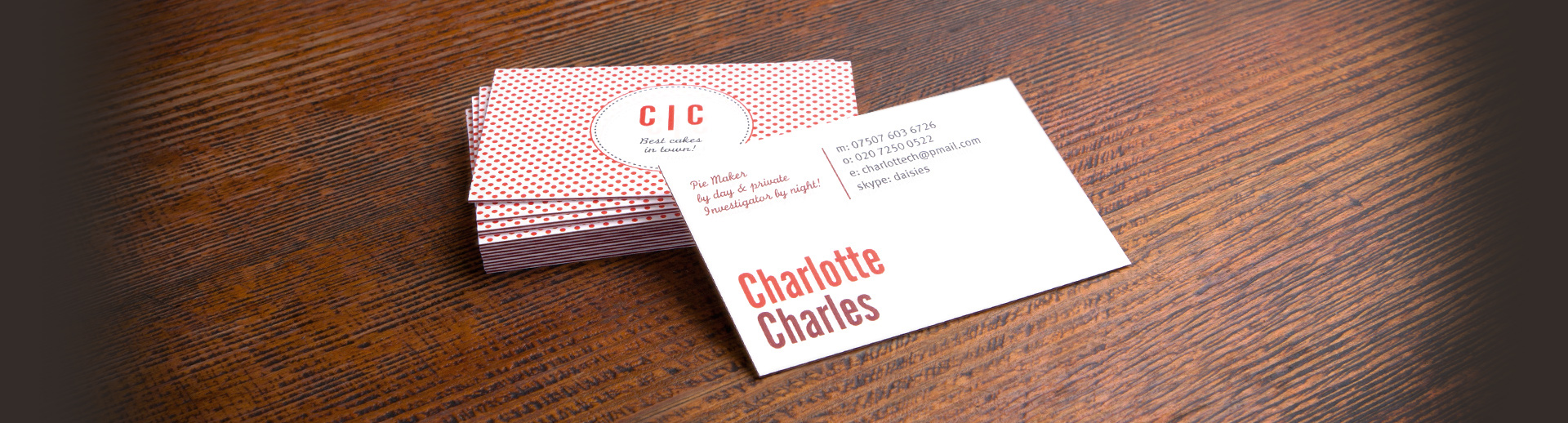 luxe business cards  elishee